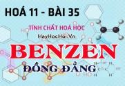 Tính chất hoá học của Benzen, đồng đẳng Toluen và Hidrocacbon thơm - hoá 11 bài 35